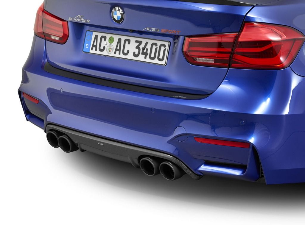 Ac Schnitzer Quad Sports Exhaust For Bmw M3 F80 From