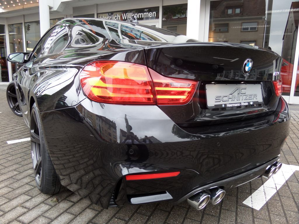 ac schnitzer quad sports exhaust for bmw m4 f82 f83 from. Black Bedroom Furniture Sets. Home Design Ideas